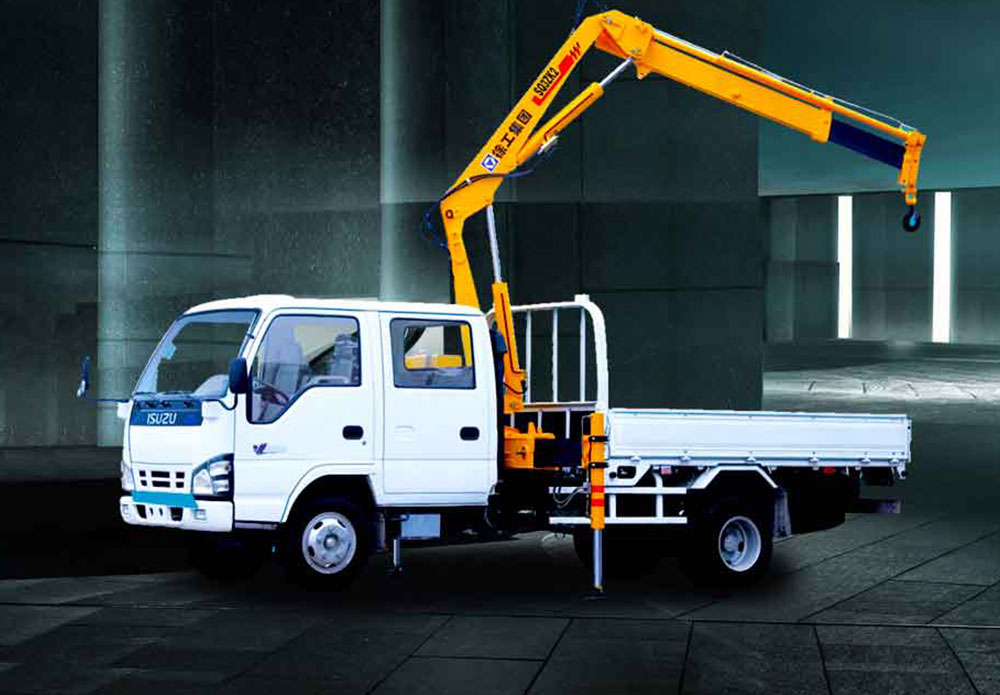 XCMG Truck mounted crane SQ3.2ZK1